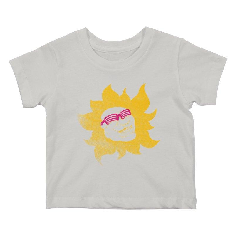 Sun Shutter Kids Baby T-Shirt by Make2wo Artist Shop