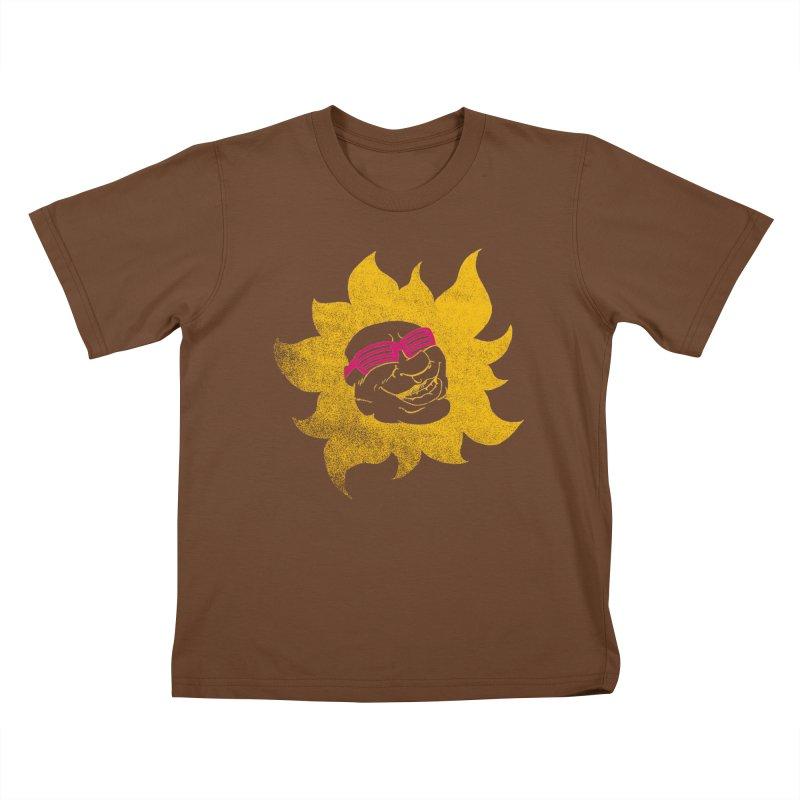 Sun Shutter Kids T-Shirt by Make2wo Artist Shop