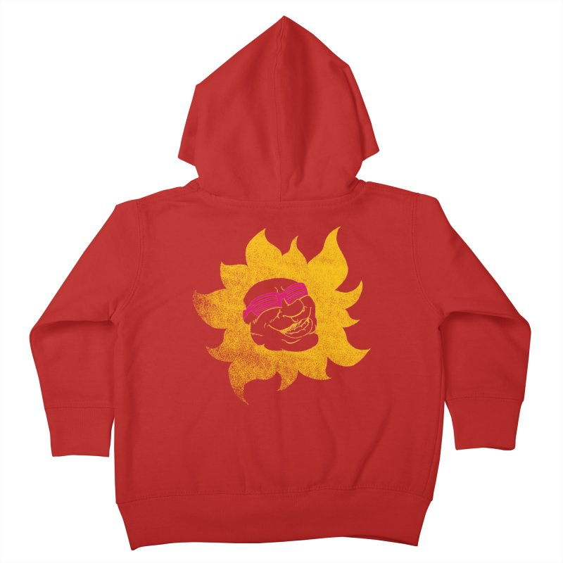 Sun Shutter Kids Toddler Zip-Up Hoody by Make2wo Artist Shop