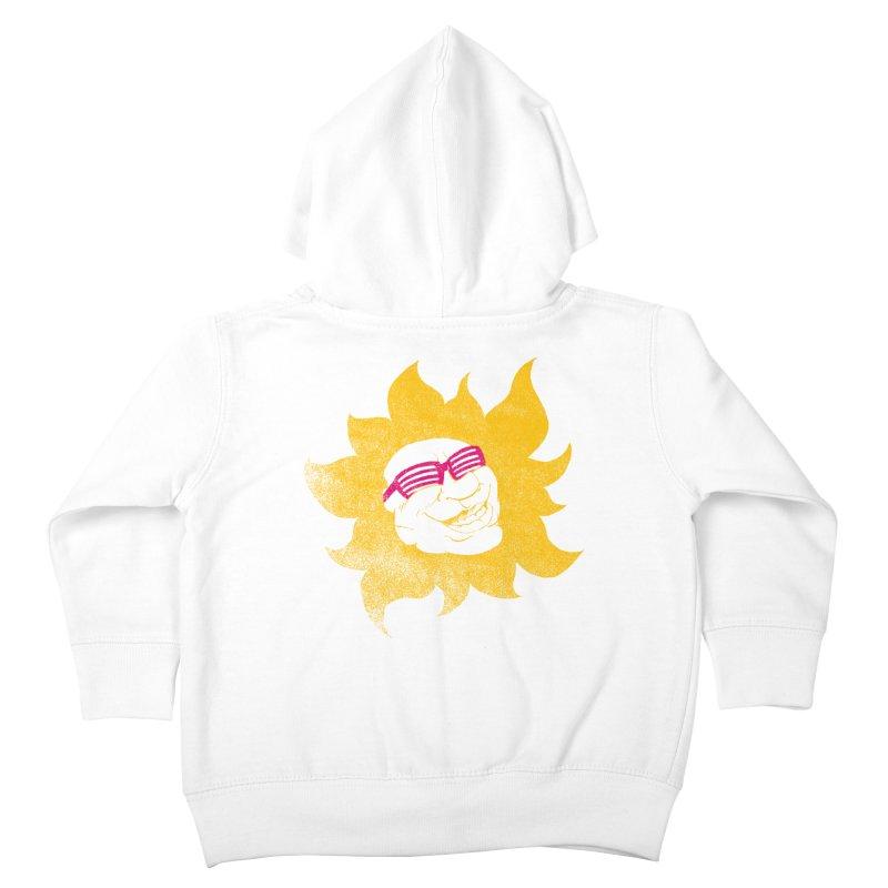 Sun Shutter Kids Toddler Zip-Up Hoody by Make2wo Artist Shop