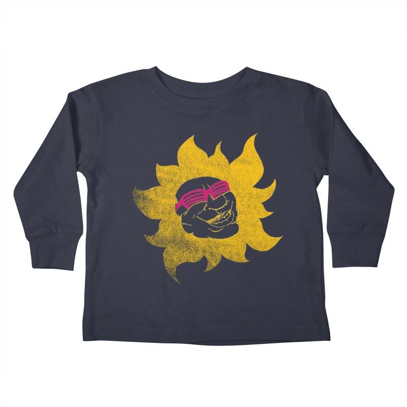 Sun Shutter Kids Toddler Longsleeve T-Shirt by Make2wo Artist Shop