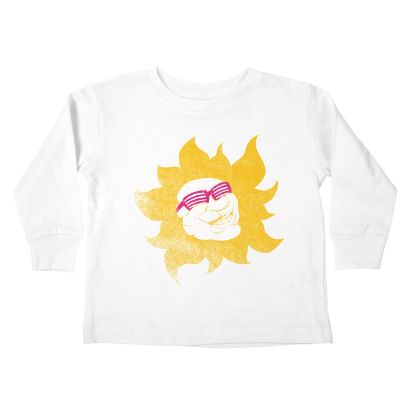 Sun Shutter Kids Toddler Longsleeve T-Shirt by Make2wo Artist Shop