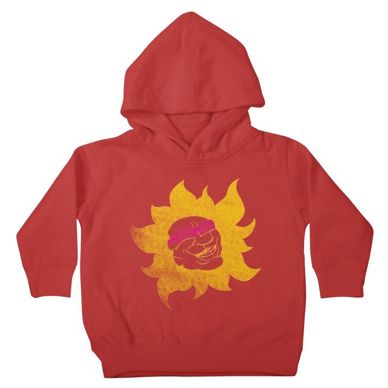Sun Shutter Kids Toddler Pullover Hoody by Make2wo Artist Shop