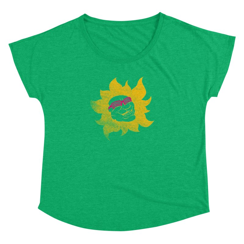 Sun Shutter Women's Dolman Scoop Neck by Make2wo Artist Shop