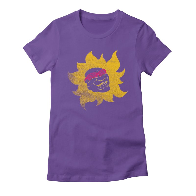 Sun Shutter Women's Fitted T-Shirt by Make2wo Artist Shop