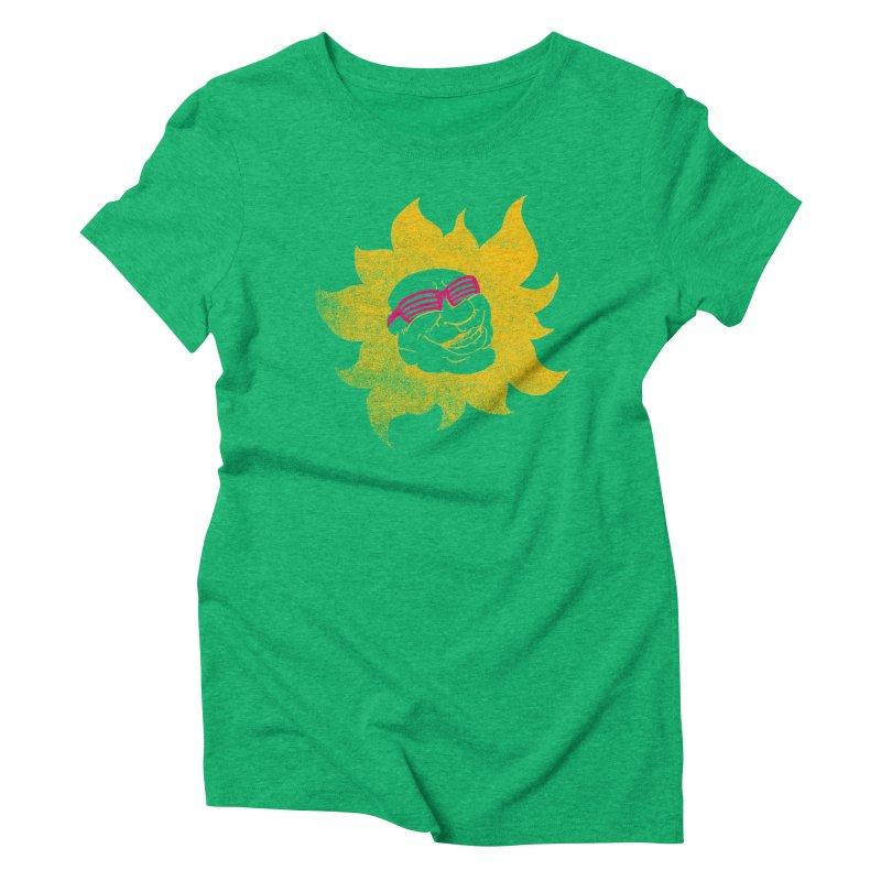 Sun Shutter Women's Triblend T-shirt by Make2wo Artist Shop