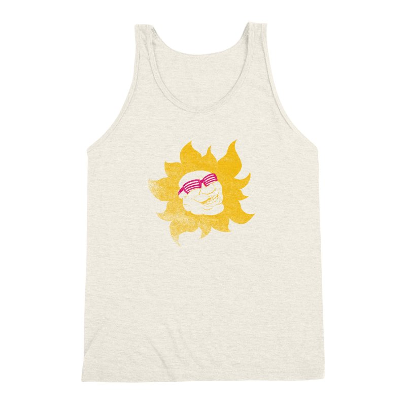 Sun Shutter Men's Triblend Tank by Make2wo Artist Shop