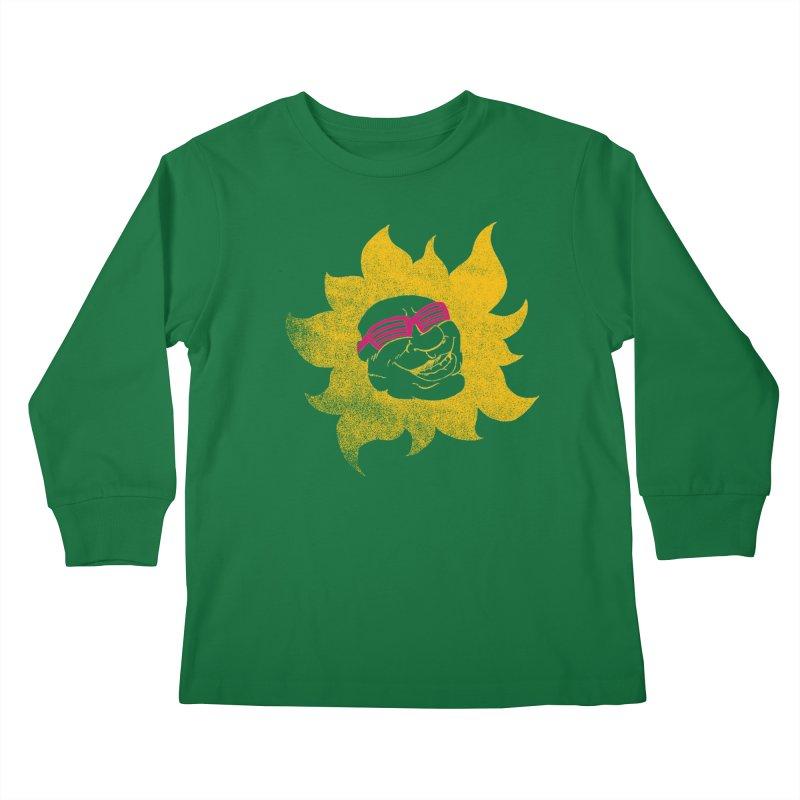 Sun Shutter Kids Longsleeve T-Shirt by Make2wo Artist Shop