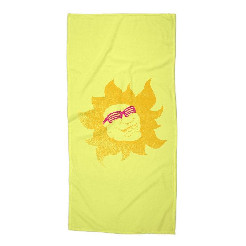 Sun Shutter Accessories Beach Towel by Make2wo Artist Shop
