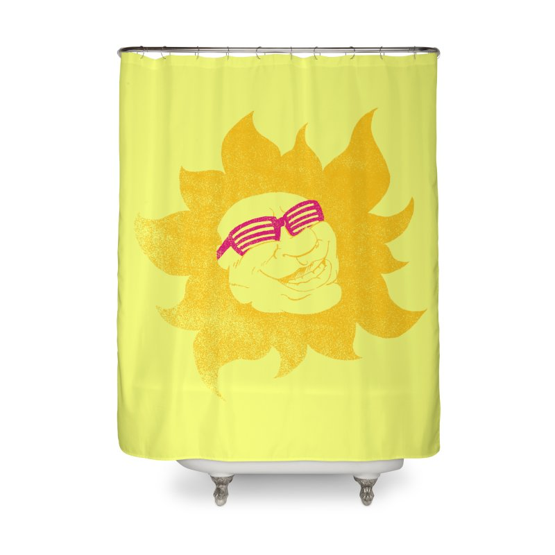 Sun Shutter Home Shower Curtain by Make2wo Artist Shop