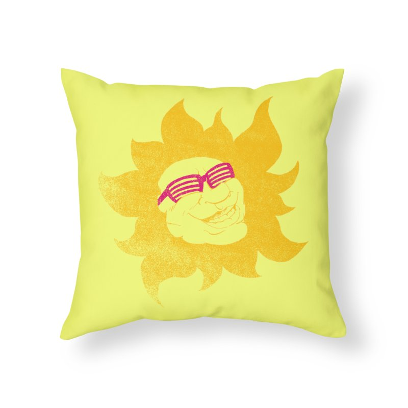 Sun Shutter Home Throw Pillow by Make2wo Artist Shop