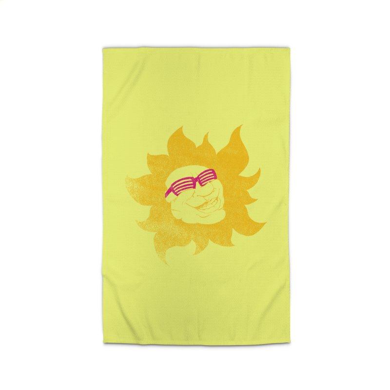 Sun Shutter Home Rug by Make2wo Artist Shop