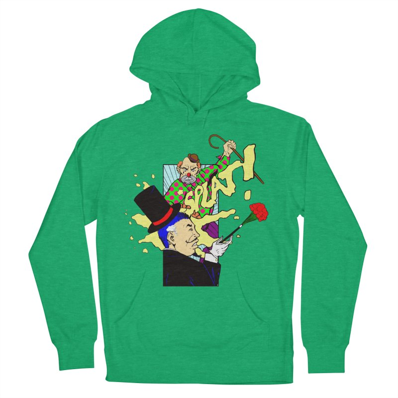 Hobo Clown v. Fancy Magician Women's Pullover Hoody by Make2wo Artist Shop