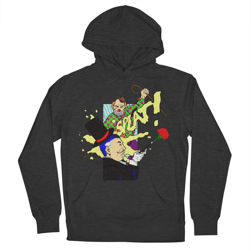 Hobo Clown v. Fancy Magician Women's French Terry Pullover Hoody by Make2wo Artist Shop