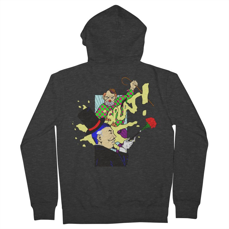 Hobo Clown v. Fancy Magician Men's Zip-Up Hoody by Make2wo Artist Shop