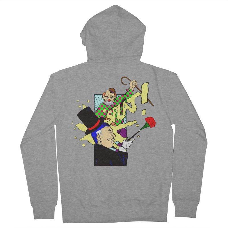Hobo Clown v. Fancy Magician Men's Zip-Up Hoody by Make2wo Artist Shop