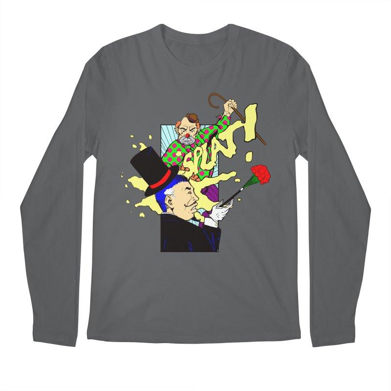 Hobo Clown v. Fancy Magician Men's Longsleeve T-Shirt by Make2wo Artist Shop