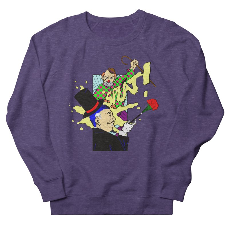 Hobo Clown v. Fancy Magician Women's Sweatshirt by Make2wo Artist Shop