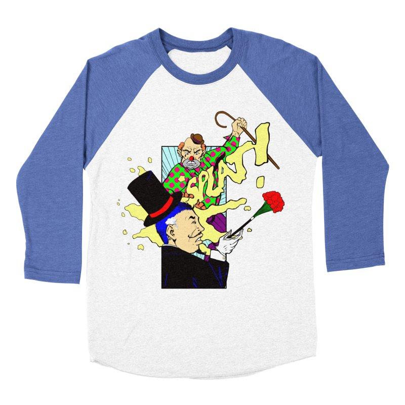 Hobo Clown v. Fancy Magician Men's Baseball Triblend Longsleeve T-Shirt by Make2wo Artist Shop