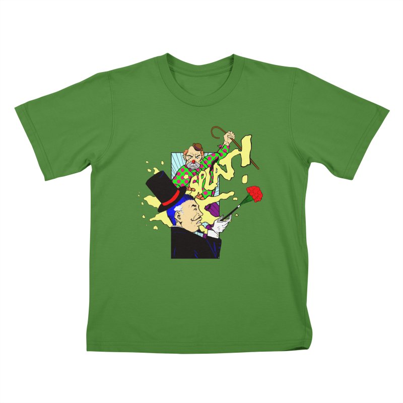 Hobo Clown v. Fancy Magician Kids T-shirt by Make2wo Artist Shop