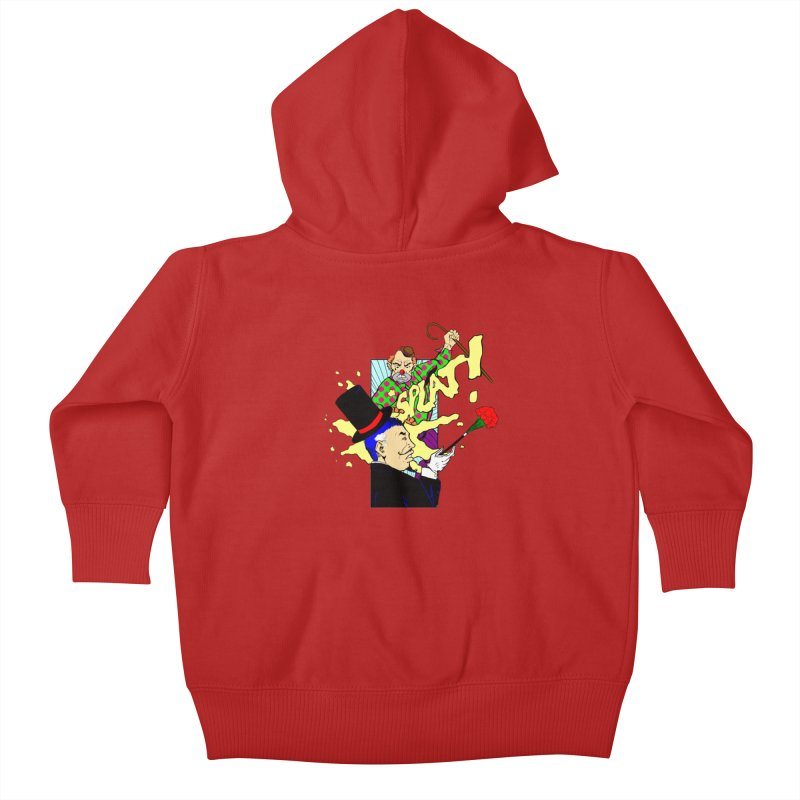 Hobo Clown v. Fancy Magician Kids Baby Zip-Up Hoody by Make2wo Artist Shop