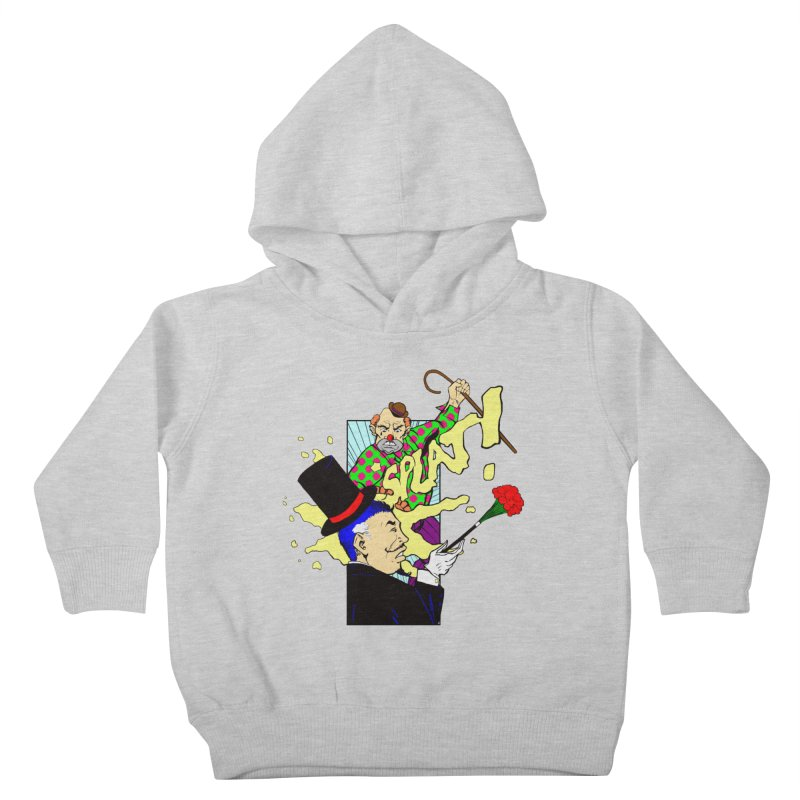 Hobo Clown v. Fancy Magician Kids Toddler Pullover Hoody by Make2wo Artist Shop