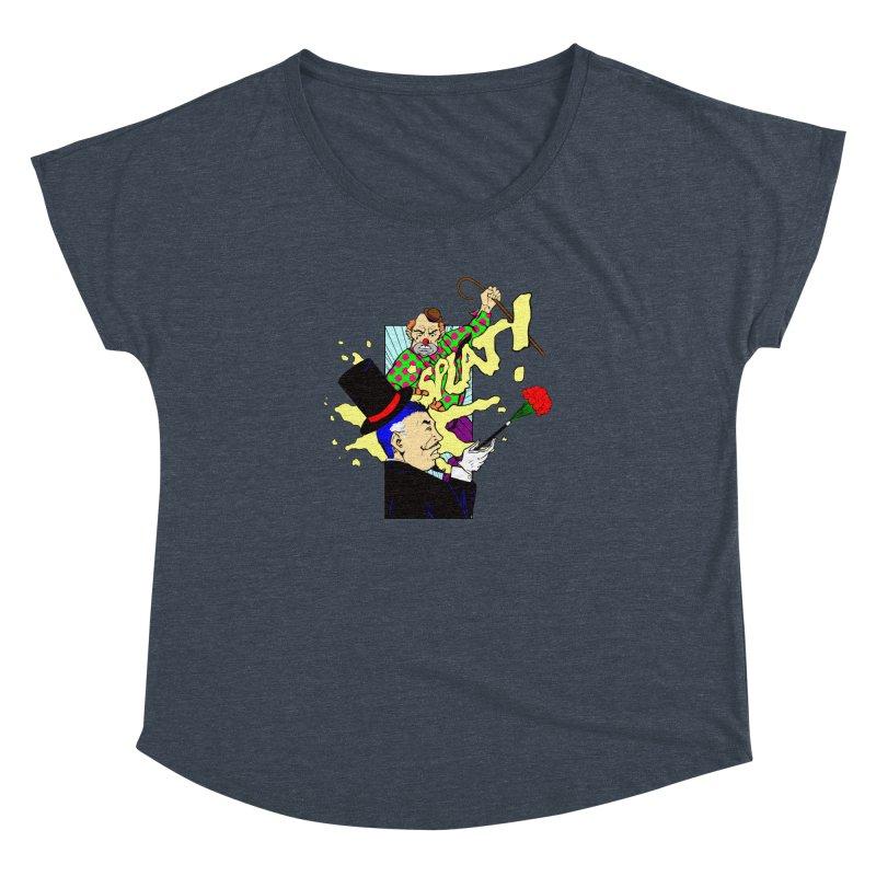 Hobo Clown v. Fancy Magician Women's Dolman by Make2wo Artist Shop