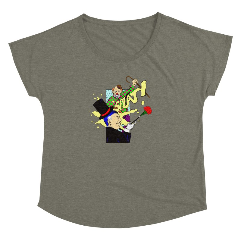 Hobo Clown v. Fancy Magician Women's Dolman by Make2wo Artist Shop