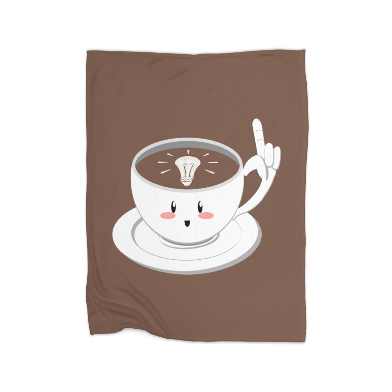 Cup of Inspiration! Home Blanket by Make2wo Artist Shop