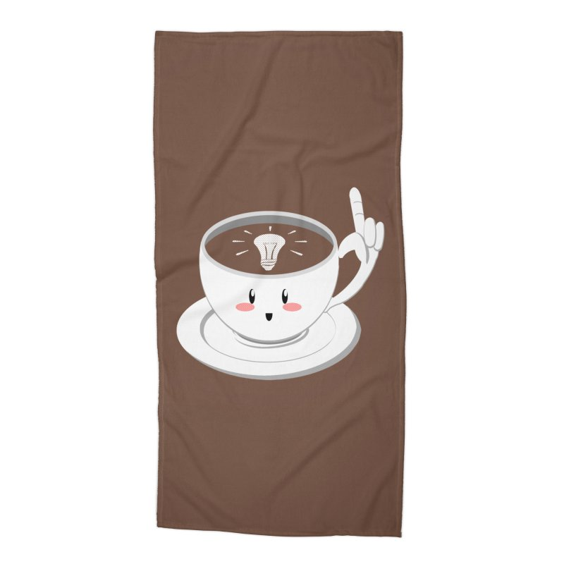 Cup of Inspiration! Accessories Beach Towel by Make2wo Artist Shop