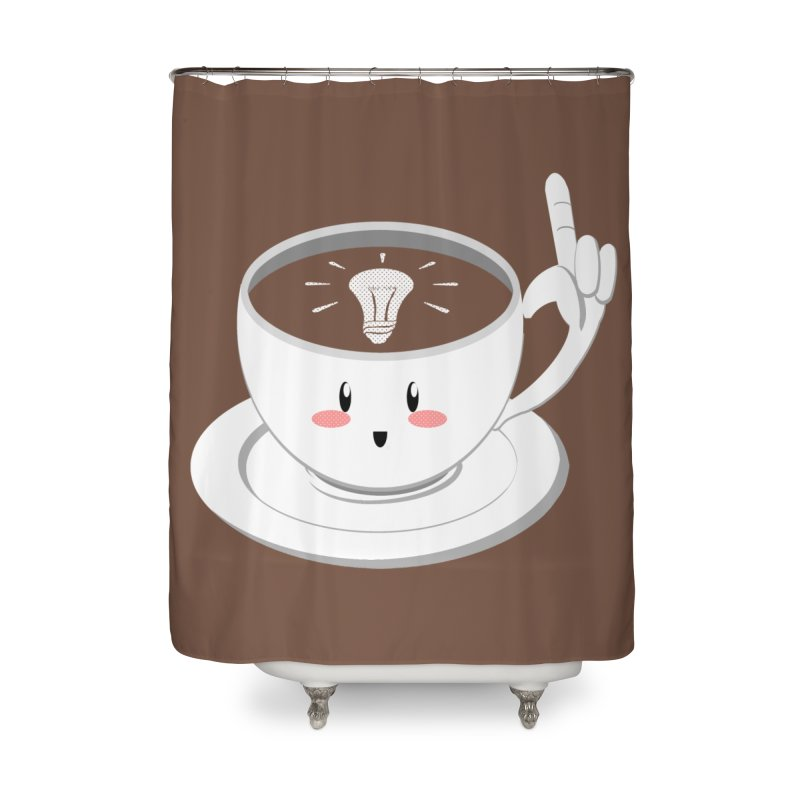 Cup of Inspiration! Home Shower Curtain by Make2wo Artist Shop