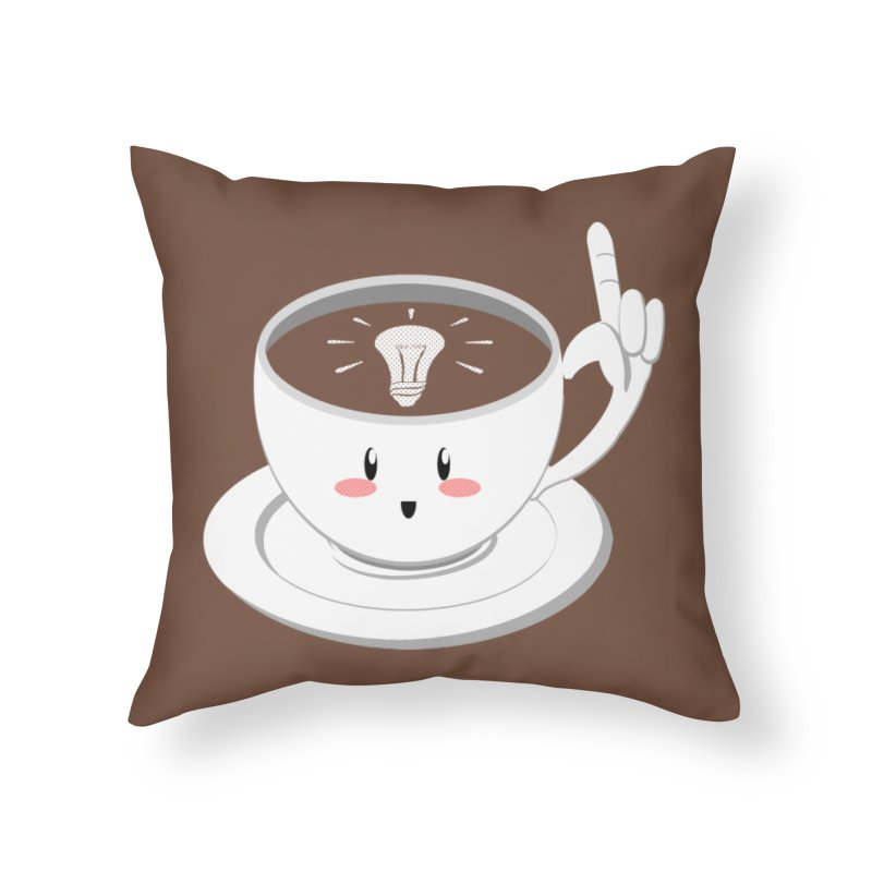 Cup of Inspiration! Home Throw Pillow by Make2wo Artist Shop