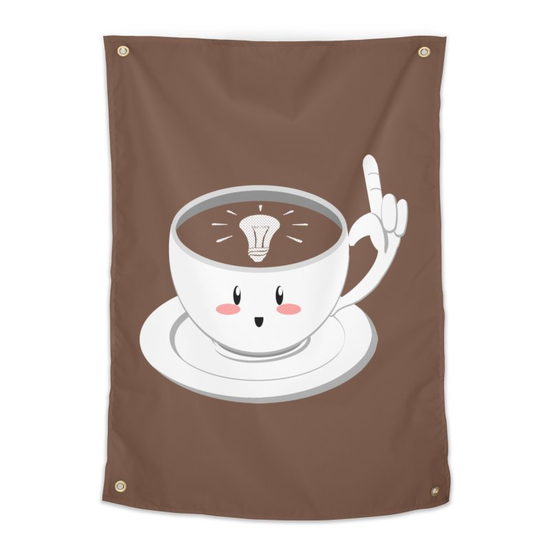 Cup of Inspiration! Home Tapestry by Make2wo Artist Shop