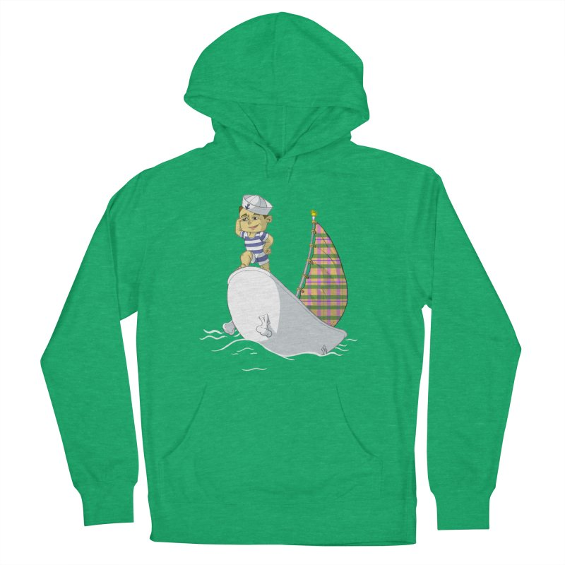 Dream of the Open Seas Women's Pullover Hoody by Make2wo Artist Shop