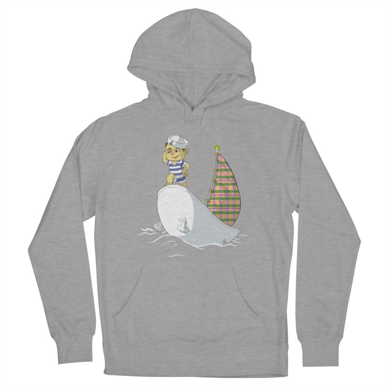 Dream of the Open Seas Men's Pullover Hoody by Make2wo Artist Shop