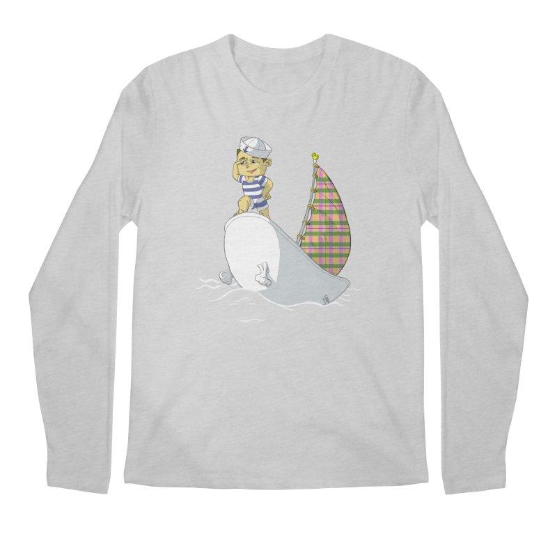 Dream of the Open Seas Men's Longsleeve T-Shirt by Make2wo Artist Shop