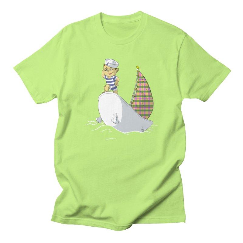 Dream of the Open Seas Men's T-shirt by Make2wo Artist Shop