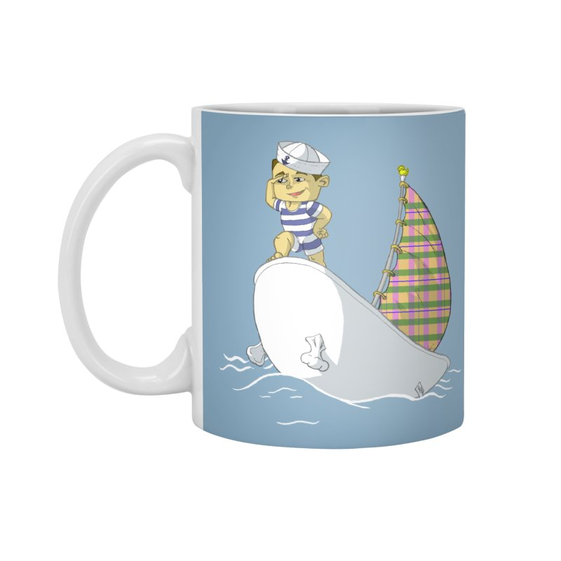 Dream of the Open Seas Accessories Mug by Make2wo Artist Shop