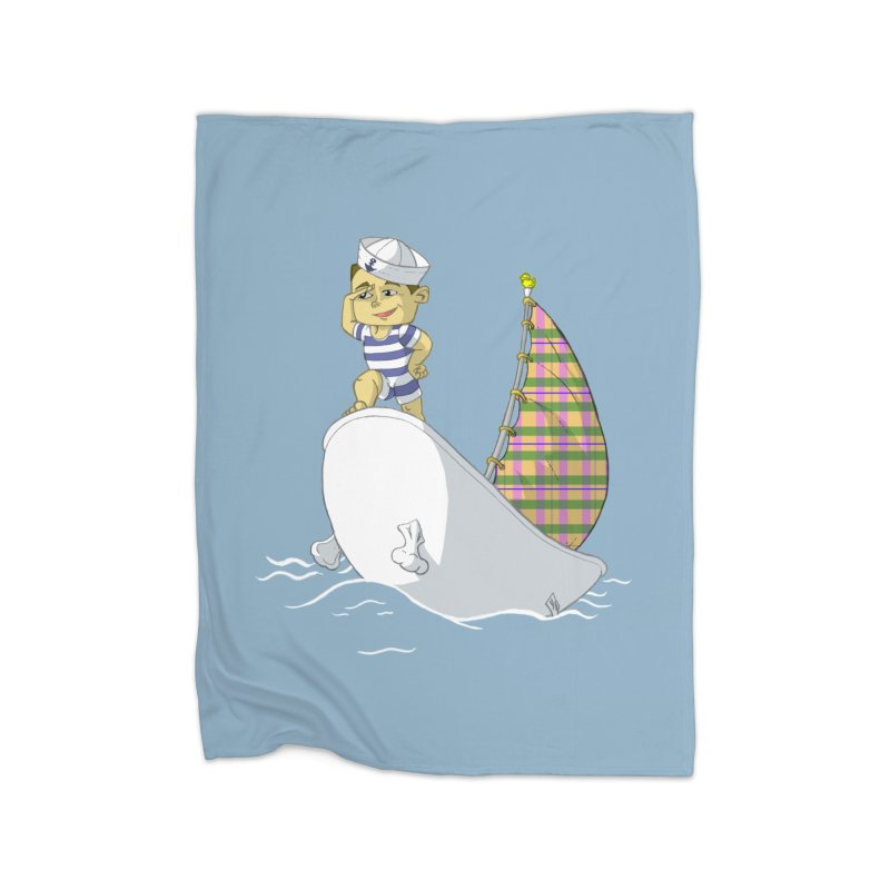Dream of the Open Seas Home Blanket by Make2wo Artist Shop