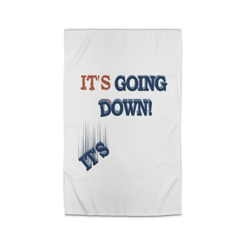 """It""""s Going Down! Home Rug by Make2wo Artist Shop"""