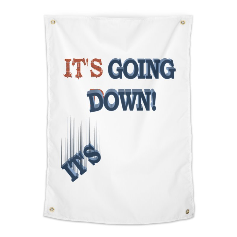 """It""""s Going Down! Home Tapestry by Make2wo Artist Shop"""