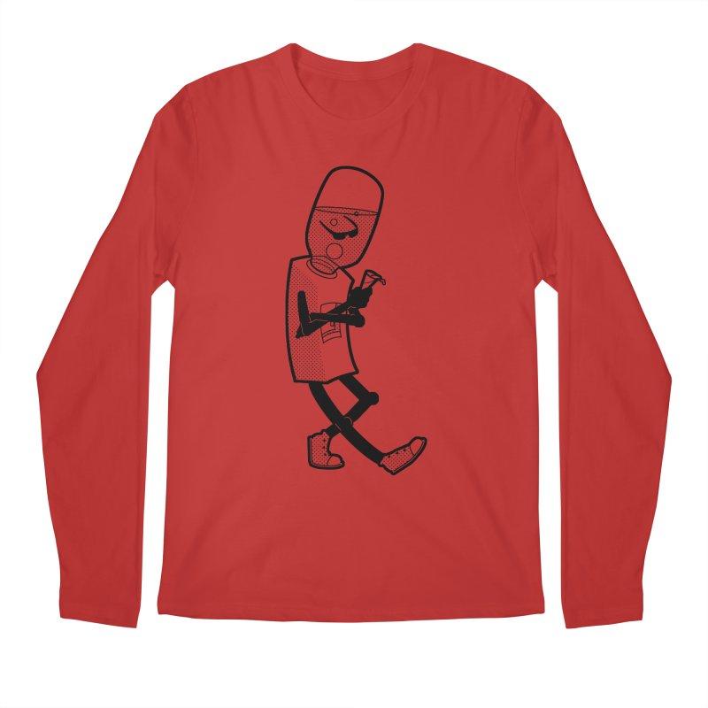 Cooler, Water Cooler Men's Longsleeve T-Shirt by Make2wo Artist Shop