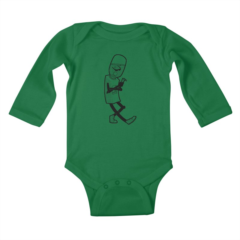 Cooler, Water Cooler Kids Baby Longsleeve Bodysuit by Make2wo Artist Shop