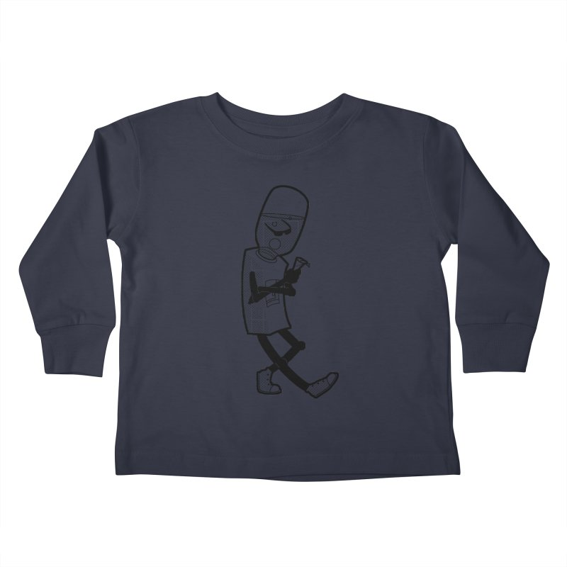 Cooler, Water Cooler Kids Toddler Longsleeve T-Shirt by Make2wo Artist Shop