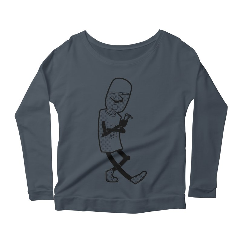 Cooler, Water Cooler Women's Scoop Neck Longsleeve T-Shirt by Make2wo Artist Shop