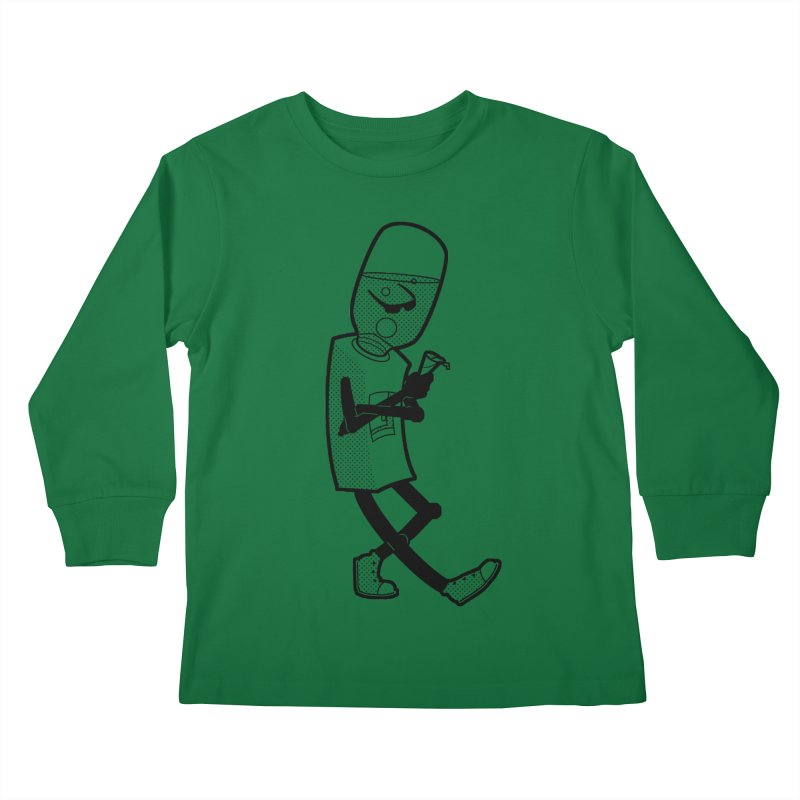 Cooler, Water Cooler Kids Longsleeve T-Shirt by Make2wo Artist Shop