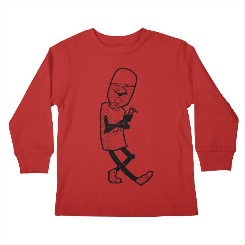 Cooler, Water Cooler Kids Longsleeve T-Shirt by Make2wo Artist Shop