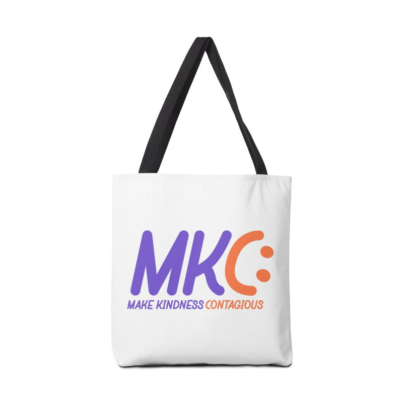 MKC Logo Apparel and Accessories Accessories Tote Bag Bag by MakeKindnessContagious's Artist Shop