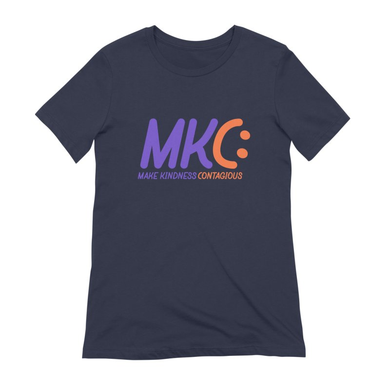 MKC Logo Apparel and Accessories Women's Extra Soft T-Shirt by MakeKindnessContagious's Artist Shop