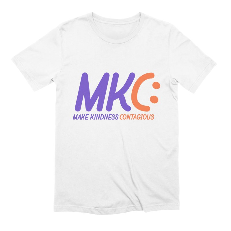 MKC Logo Apparel and Accessories Men's Extra Soft T-Shirt by MakeKindnessContagious's Artist Shop